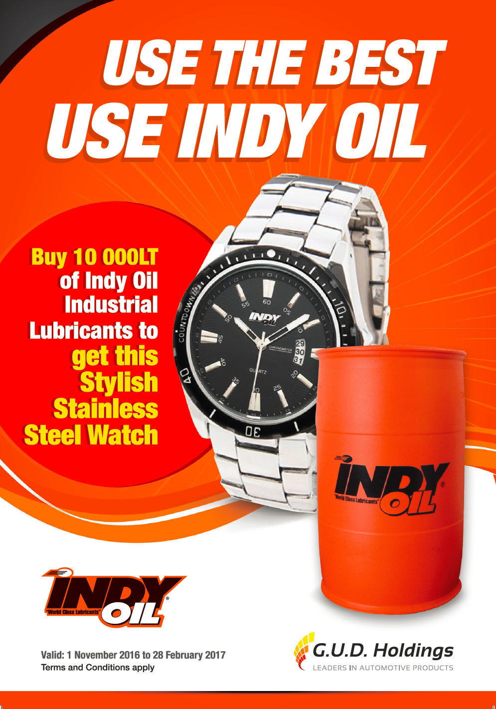 Indy Oil Industrial Promotion